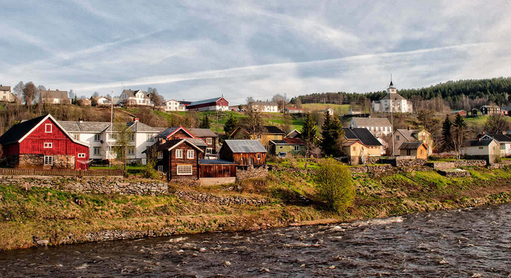 Tolga village east of river Glomma. © 2015 Liell Photography